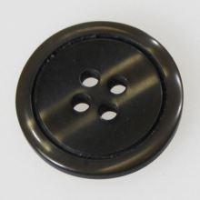 Gombík čiernobiely vzor K32-2, priemer 20 mm.