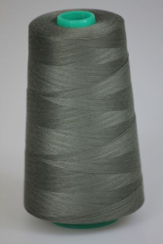 Niť KORALLI polyesterová 120, 5000Y, odtieň 6925, šedá