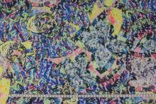 Čipka N3862, farebný vzor, š.150