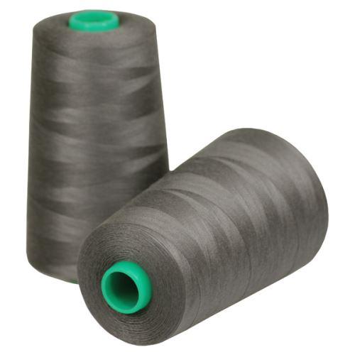 Nit KORALLI polyesterová 120, 5000Y, odstín 4940, hnědá-šedá