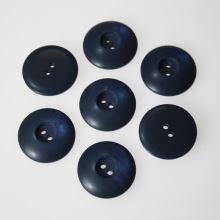 Knoflík modrý K32-10,  průměr 20 mm.