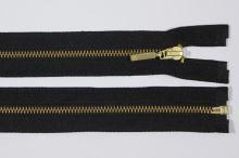 Zip kovový 4mm mosaz délka 55cm, barva 332 (dělitelný)