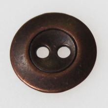 Knoflík bronzový K24-4, průměr 15 mm.