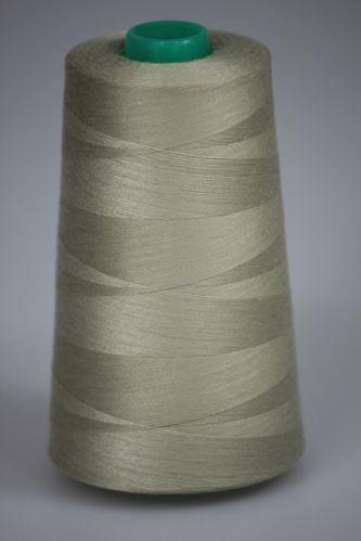 Niť KORALLI polyesterová 120, 5000Y, odtieň 7160, béžová