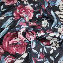 Šatovka čierna, ružový kvet š.145