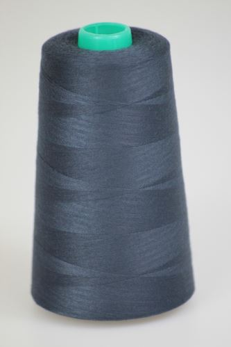 Nit KORALLI polyesterová 120, 5000Y, odstín 5965, modrá-šedá