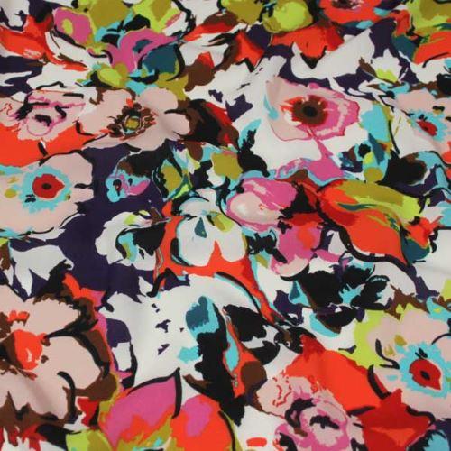 Šatovka 16611 farebný kvet, š.140
