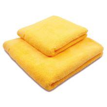 Ručník mikrobavlna Sleep Well 50x100 cm, žlutý