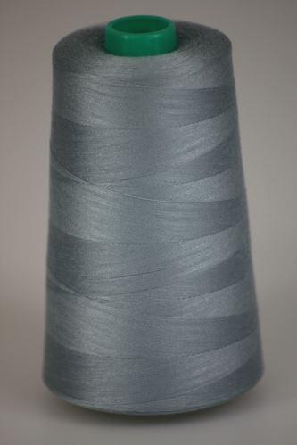 Niť KORALLI polyesterová 120, 5000Y, odtieň 9150, modrá