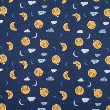 Úplet modrý, noční obloha, š.150