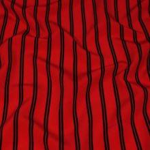 Šatovka červená, čierny pruh š.150