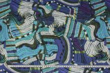 Šatovka 17714, farebný vzor, š.145