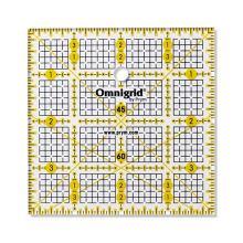 Pravítko pre patchwork Prym Omnigrid, 4x4 inch