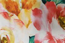 Úplet barevný květinový vzor, š.175