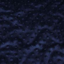 Minky tvavě modré, protlačované ťuplíky, š.150