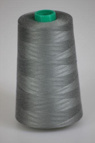 Niť KORALLI polyesterová 120, 5000Y, odtieň 9220, šedá