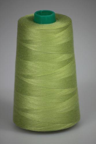 Niť KORALLI polyesterová 120, 5000Y, odtieň 6710, zelená