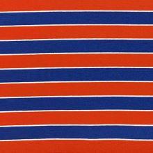 Úplet 20977, oranžovo-modrý pruh, š.155