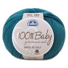 Příze 100% BABY 50g, tmavě modrá - odstín 084