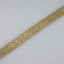 Stuha lurexová zlatá, šíře 10mm