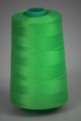 Niť KORALLI polyesterová 120, 5000Y, odtieň 6330, zelená