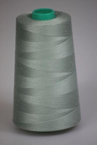 Niť KORALLI polyesterová 120, 5000Y, odtieň 5140, zelená