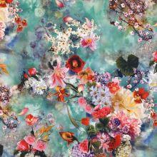 Taft N4534, barevný květ, š.150