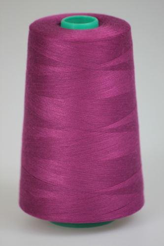 Nit KORALLI polyesterová 120, 5000Y, odstín 3730, fialová
