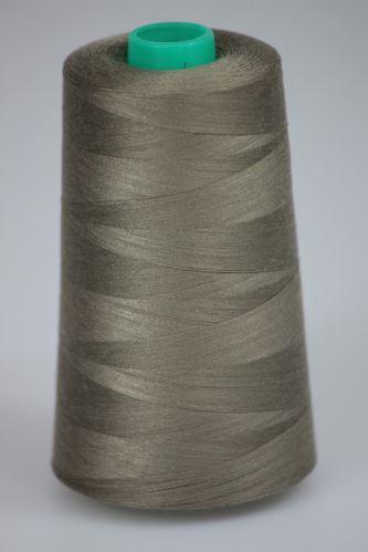 Nit KORALLI polyesterová 120, 5000Y, odstín 7440, hnědá