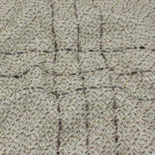 Kabátovina krémovo-béžové káro, š.150