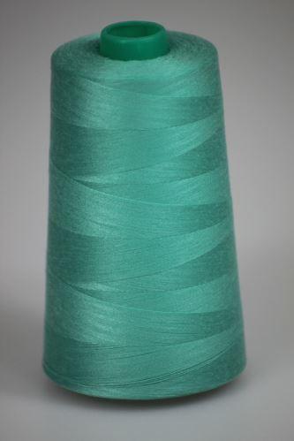 Niť KORALLI polyesterová 120, 5000Y, odtieň 6220, zelená