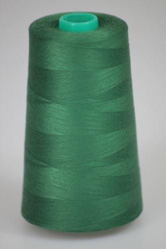 Niť KORALLI polyesterová 120, 5000Y, odtieň 6640, zelená